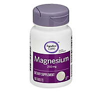 Signature SELECT Magnesium 250 Milligrams - 100 Count