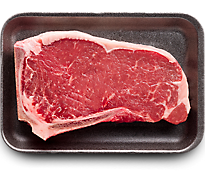 1 LB USDA Choice Beef Top Loin New York Strip Steak Bone In