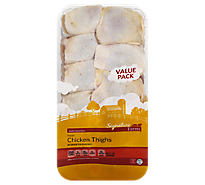 5.50 LB Signature Chicken Thighs Value Pack
