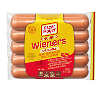Oscar Mayer Weiners Uncured Classic 10 Count - 16 Oz