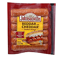 Johnsonville Sausage Beddar With Cheddar - 14 Oz