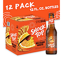 Shock Top Beer Belgian White - 12-12 Fl. Oz.