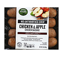 Open Nature Chicken Sausage Chicken & Apple - 12 Oz