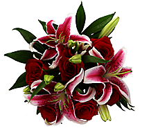 Debi Lilly Fragrant Rose Bouquet - colors may vary