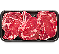 4 LB USDA Choice Beef Ribeye Steak Bone In Extreme Value Pack