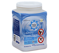 Signature Home Single Dose Liquid Laundry Free & Clear Tub - 66 Count