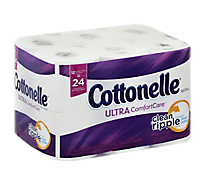 Cottonelle Ultra Comfort Care Toilet Paper 2-Ply Double Roll - 12 Count