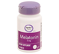 S Care Melatonin Tablets - 90 Count