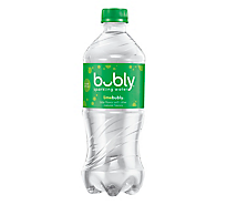 bubly Sparkling Water Lime Plastic Bottle - 20 Fl. Oz.