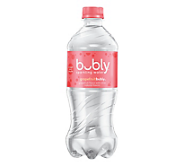 bubly Sparkling Water Grapefruit Plastic Bottle - 20 Fl. Oz.