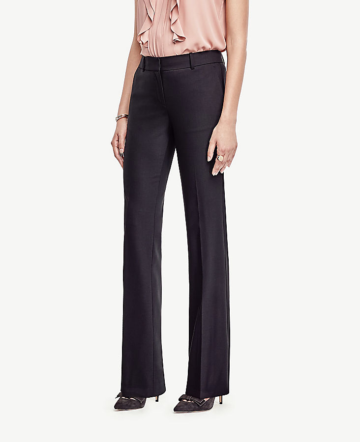 The Petite Trouser In Tropical Wool - Classic Fit
