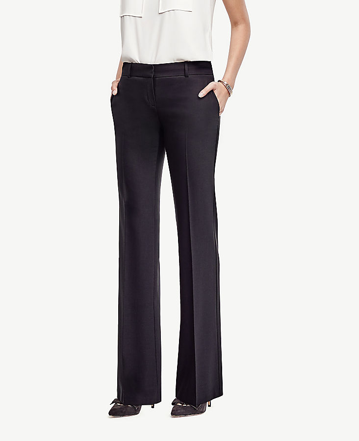 The Petite Trouser In Tropical Wool