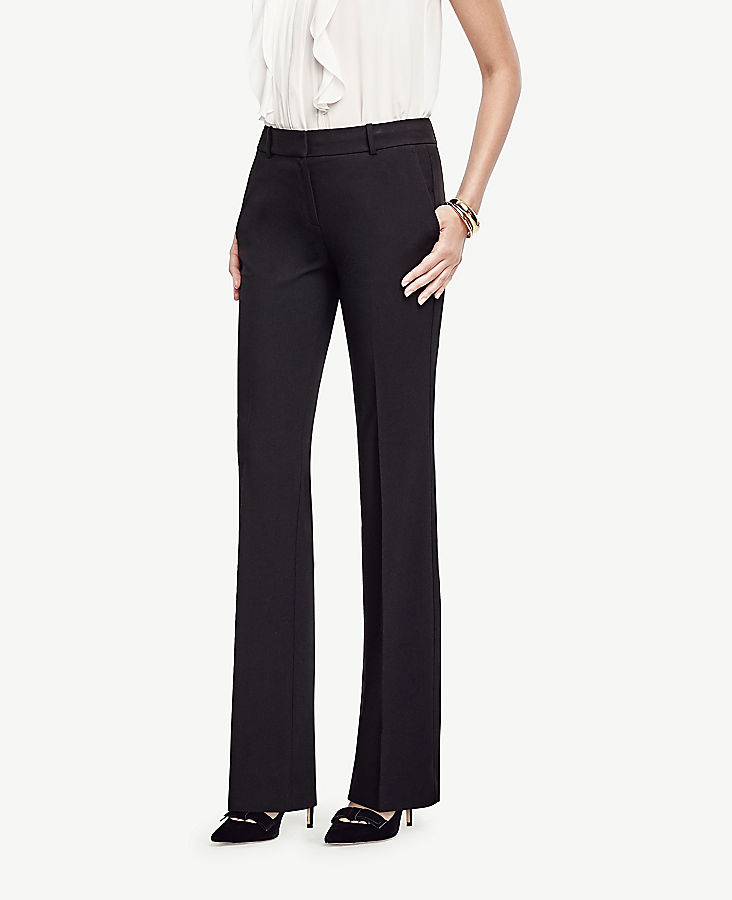 The Petite Trouser In Seasonless Stretch - Classic Fit
