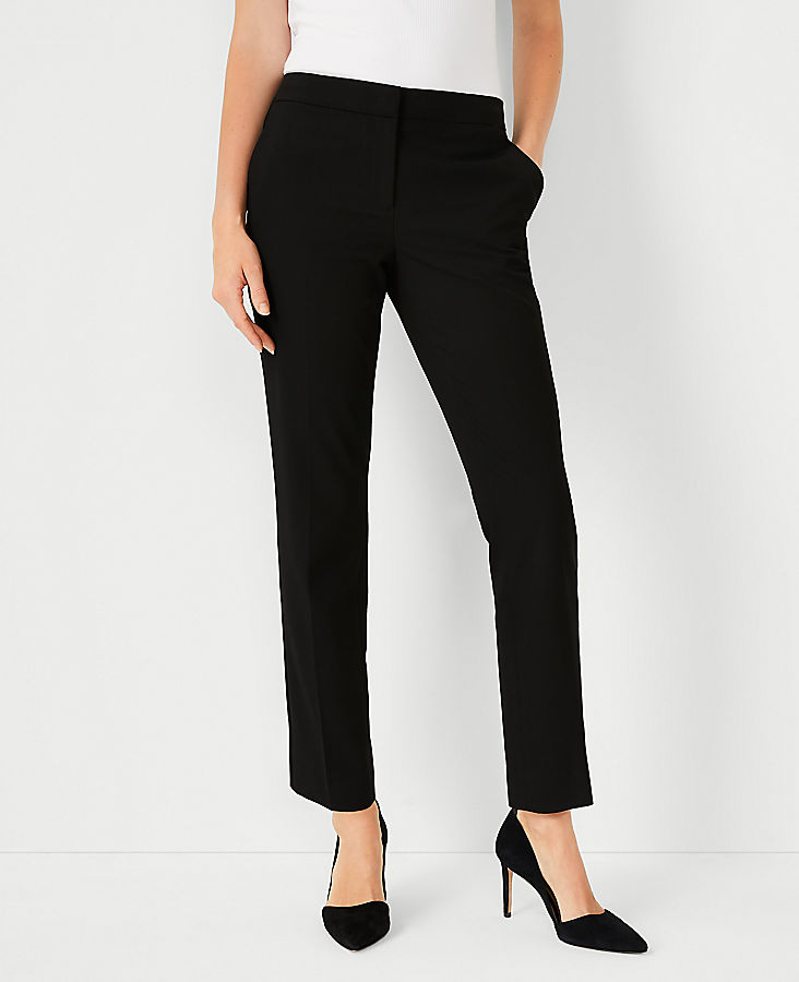 The Petite Ankle Pant In Seasonless Stretch - Curvy Fit
