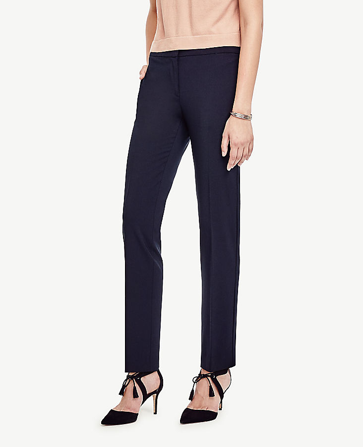 The Ankle Pant in Seasonless Stretch - Curvy Fit   Tuggl