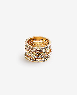 Ann Taylor Stackable Rings