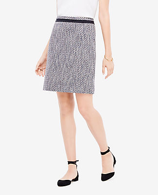Ann Taylor Petite Mixed Tweed Skirt