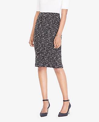 Ann Taylor Petite Knit Tweed Pencil Skirt