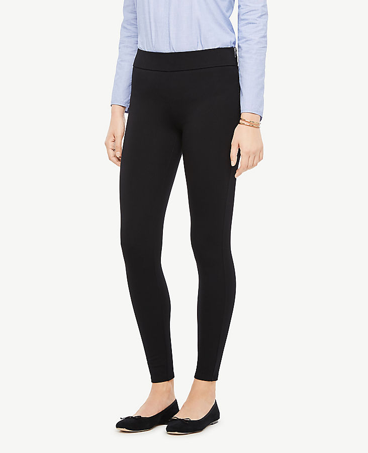 Petite Side Zip Leggings | Tuggl