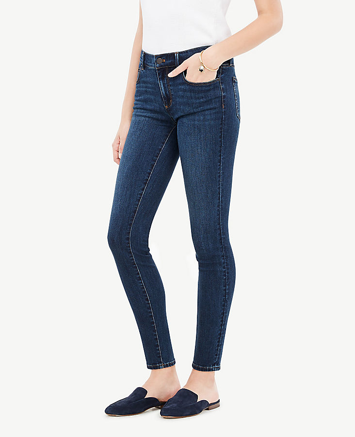 Petite Modern All Day Skinny Jeans in Mariner Wash | Tuggl