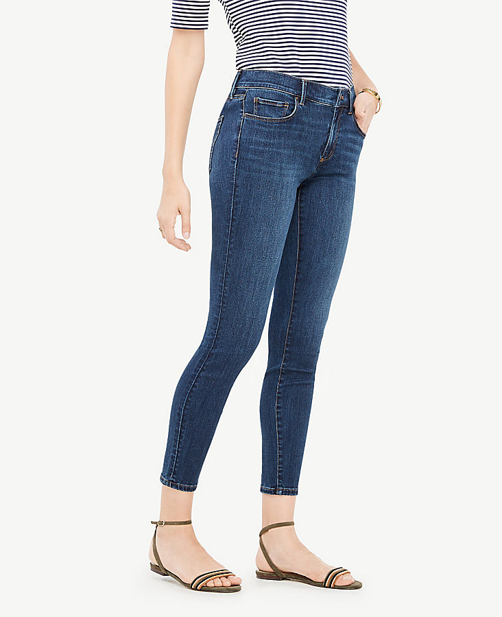 Petite Curvy All Day Skinny Jeans in Mariner Wash | Tuggl