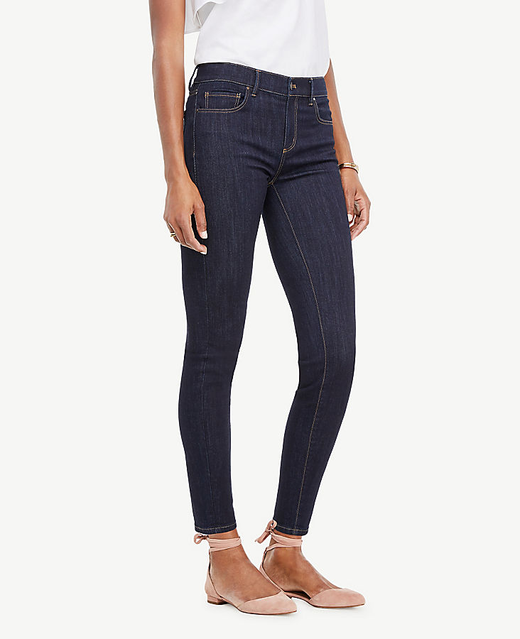Petite Modern All Day Skinny Jeans in Evening Sea Wash | Tuggl