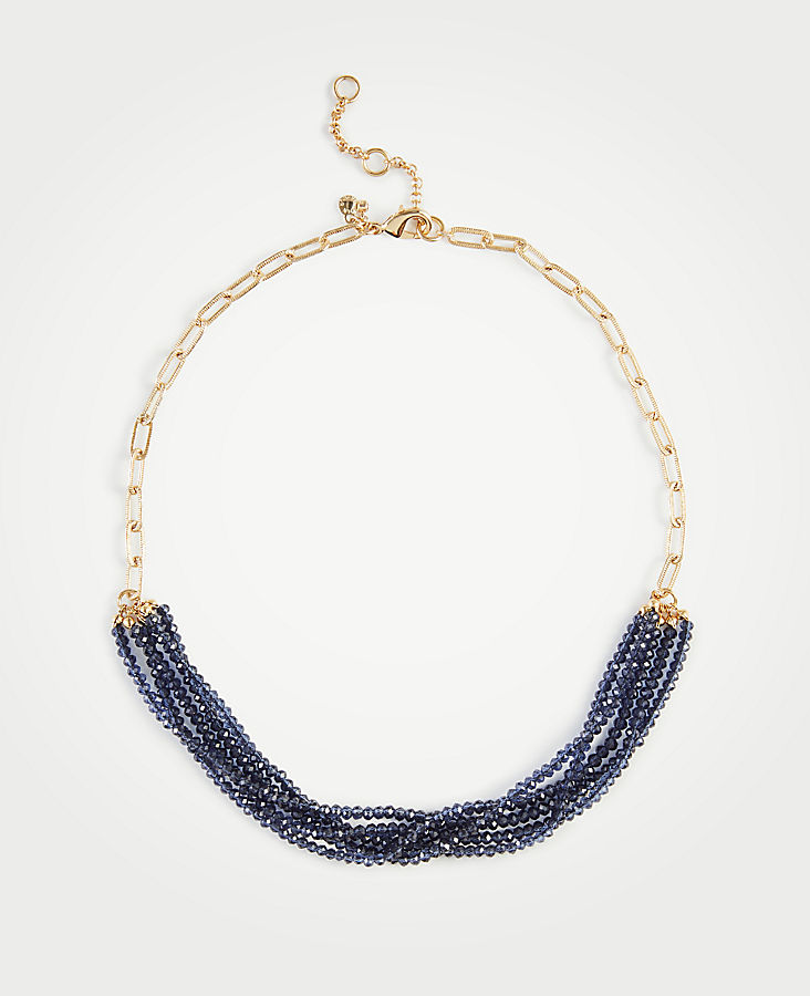 Resin Metal Stud Necklace | Tuggl
