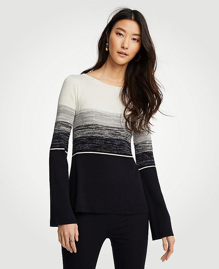 Striped Boatneck Sweater at Ann Taylor in Victor, NY | Tuggl