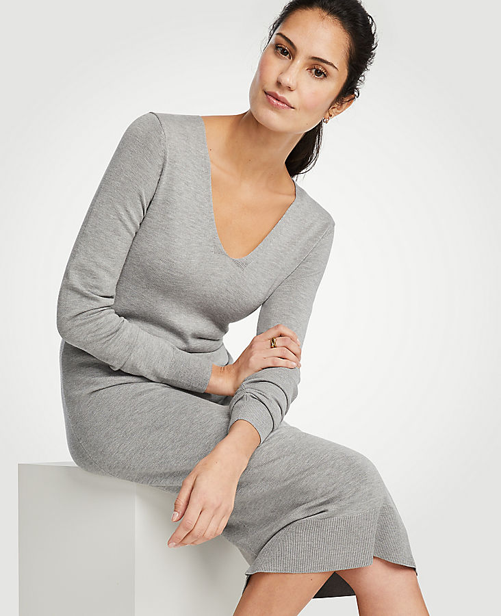 Midi Sweater Dress at Ann Taylor in Victor, NY | Tuggl