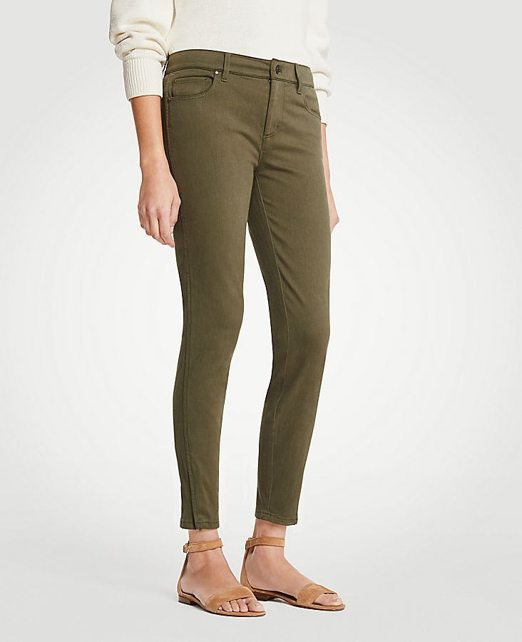 Modern Ankle Zip All Day Skinny Crop Jeans | Tuggl