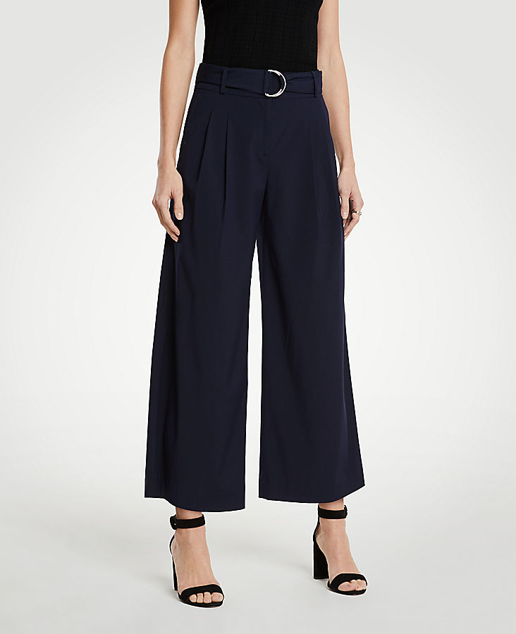 The Pleated Wide Leg Marina Pant | Tuggl