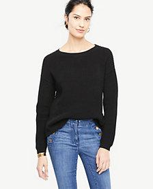 Ann Taylor Crew Neck Sweater 24303439