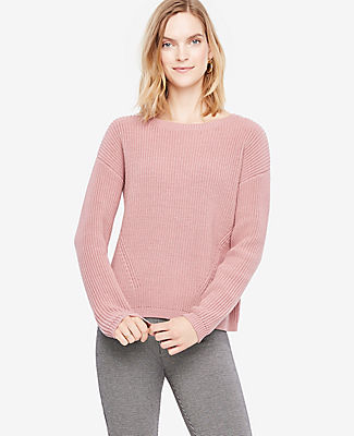 Ann Taylor Petite Crew Neck Sweater 24313612