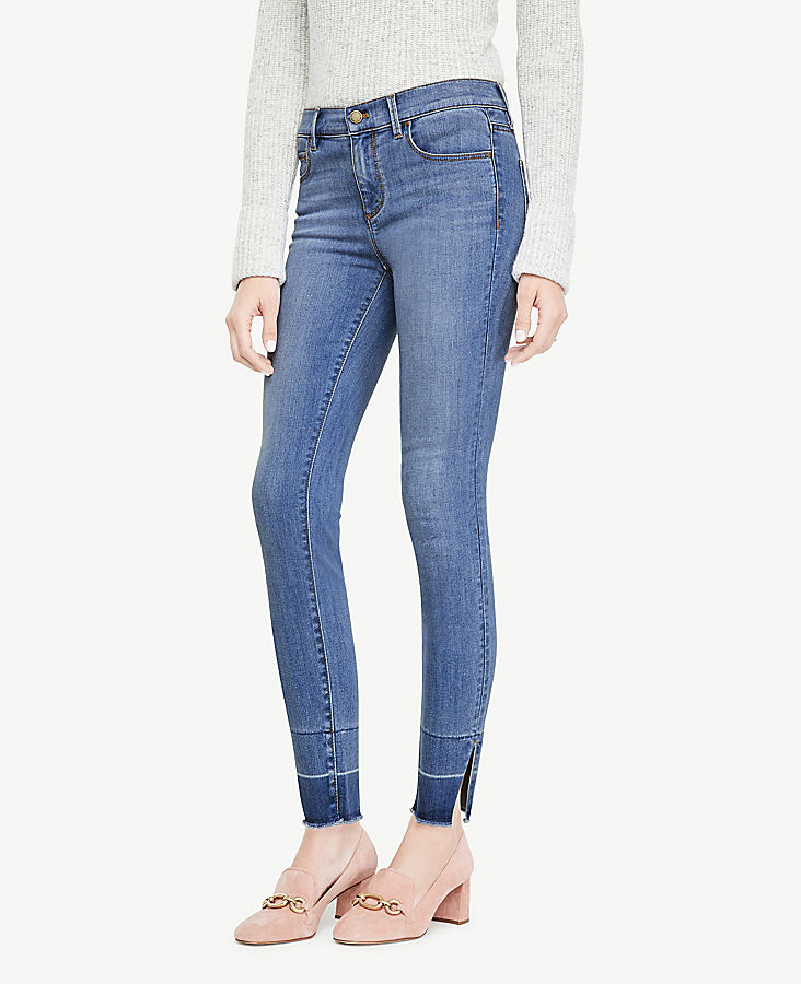 Petite Released Hem All Day Skinny Jeans | Tuggl