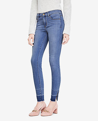 Ann Taylor Tall Released Hem All Day Skinny Jeans 24373128