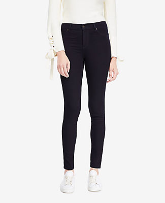 Image of Ann Taylor Factory All Day Denim Jeggings in Deep Tide Wash