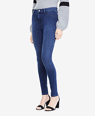 Image of Ann Taylor Factory All Day Denim Jeggings in Sapphire Waves Wash