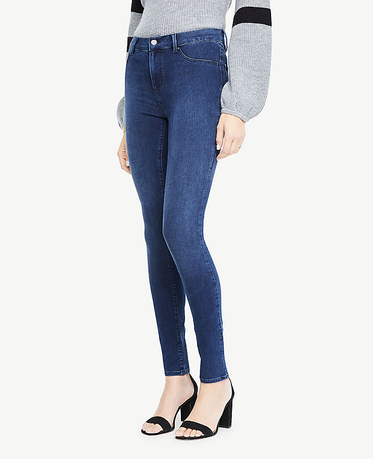 All Day Denim Jeggings in Sapphire Waves Wash | Tuggl