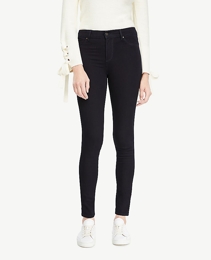 Petite All Day Denim Jeggings in Deep Tide Wash