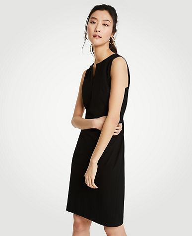 WallisRUFFLE TRIM SLEEVE DRESS - Jumper dress - ink