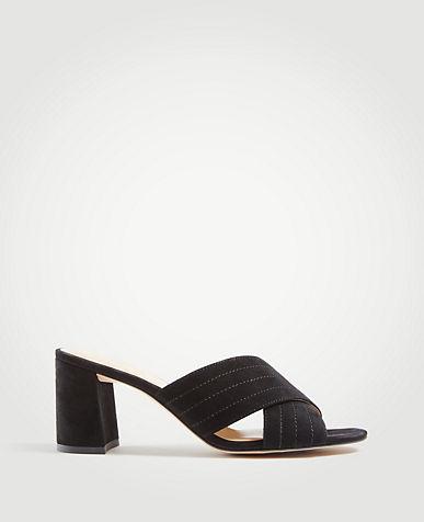 aeb610ff6cea2b Black   Brown Sandals for Women- Heels