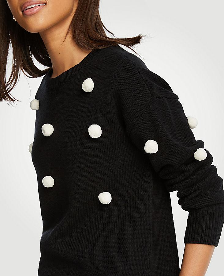 Pom Pom Sweater | Tuggl