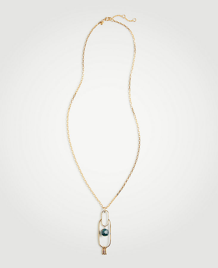 Stone Pendant Necklace | Tuggl