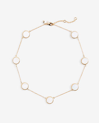 Ann Taylor Mother Of Pearl Necklace