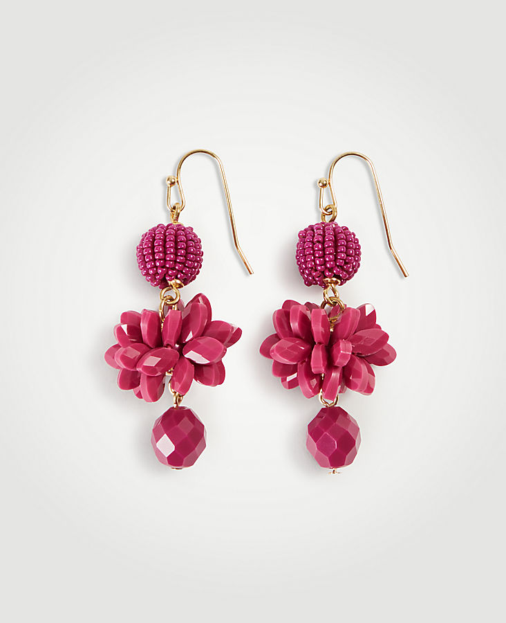 Seed Bead Drop Earrings | Tuggl