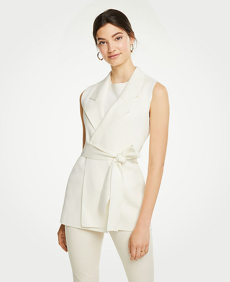 Belted Sweater Vest at Ann Taylor in Victor, NY | Tuggl