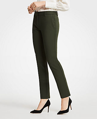 The Ankle Pant In Dense Twill - Curvy Fit, Wild Moss