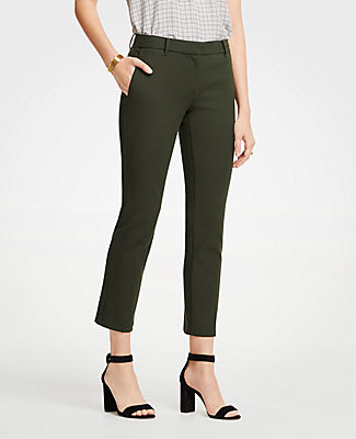 The Petite Ankle Pant In Dense Twill - Curvy Fit, Wild Moss