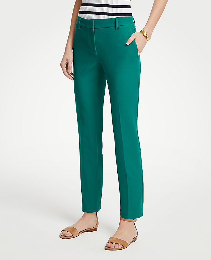 The Petite Ankle Pant In Dense Twill - Curvy Fit | Tuggl