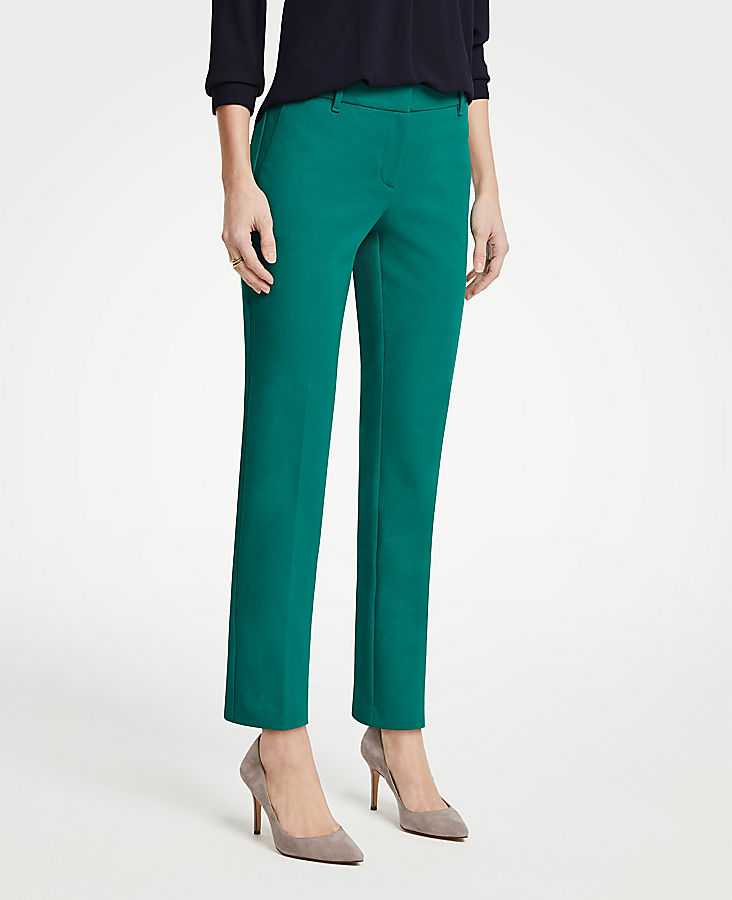 The Petite Ankle Pant In Dense Twill | Tuggl